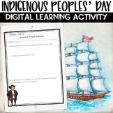 Indigenous Peoples Day   Christopher Columbus Digital Activity