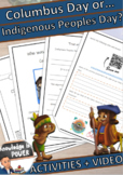 Indigenous Peoples Day vs Columbus Day | For Kids | Englis