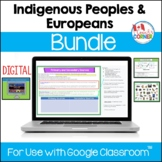 Indigenous Peoples and Europeans Bundle   for Use with Goo