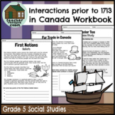 Interactions of Indigenous Peoples and Europeans (Grade 5 Social Studies)
