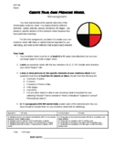 Indigenous Spirituality - Create Your Own Medicine Wheel Mini-Assignment