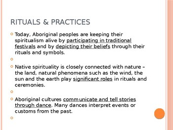 Indigenous Studies Rituals and Practices