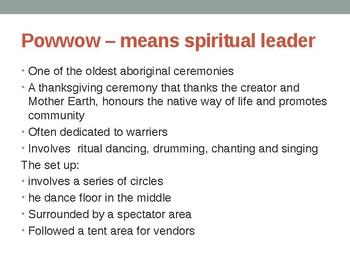 Indigenous Studies Rituals and Practices