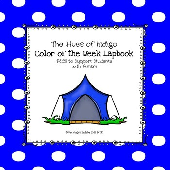 Indigo Color of the Week Lapbook