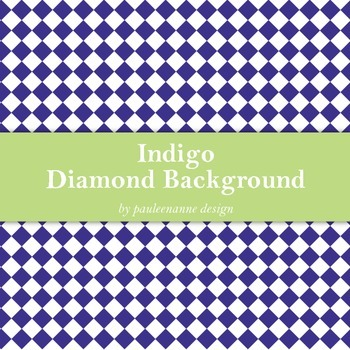 Indigo Diamond Background