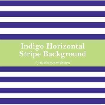 Indigo Horizontal Stripe Background