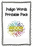 Indigo Words Pack