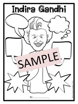 Indira Gandhi Graphic Organizers