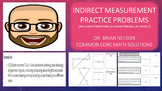 Indirect Measurement Practice Problems