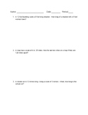 Indirect Measurement and Scale Factor Word Problems (VA SOL 7.4)