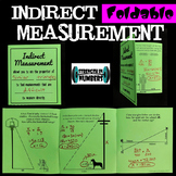 Indirect Measurement w/ Proportions Foldable Notes Interactive Notebook