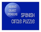 Spanish Indirect Object Pronoun Circle Puzzle