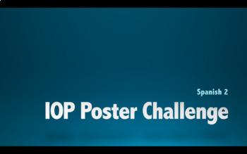 Indirect Object Pronoun Poster Challenge