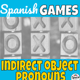 Indirect Object Pronouns: Spanish Tic-Tac-Toe Game