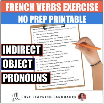 French Indirect Object Pronouns Worksheet - Complément d'Objet Indirect