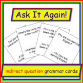 Indirect Question Formation Board Game: Ask It Again!