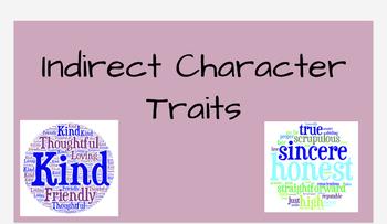 Indirect characterization PPT