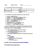 Indirect object pronoun worksheet / Realidades 2 4a
