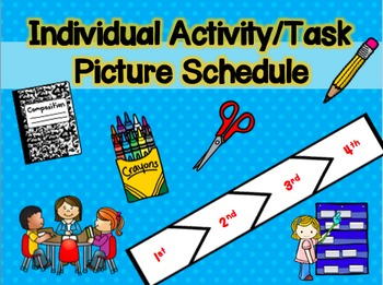 Individual Activity/Task Picture Schedule