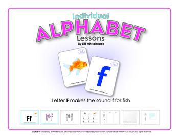 Alphabet Individual Lessons - Letter F makes the sound f