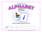 Alphabet Individual Lessons - Letter I makes the sound i