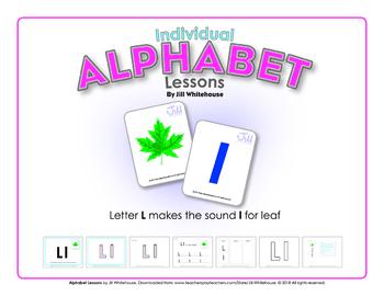Alphabet Individual Lessons - Letter L makes the sound l