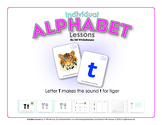 Alphabet Individual  Lessons - Letter T makes the sound t