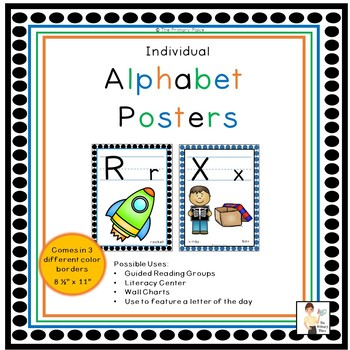 Individual Alphabet Posters