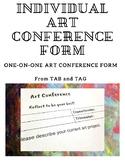 Individual Art Conference - TAB Classroom