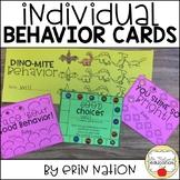 Individual Behavior Cards