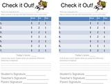 Individual Behavior Chart