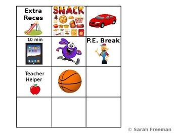 Individual Behavior Chart EDITABLE