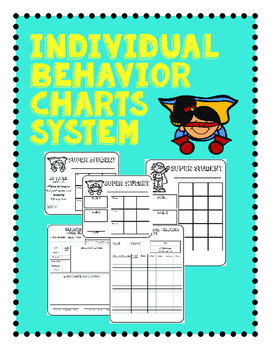 Individual Behavior Chart Packet