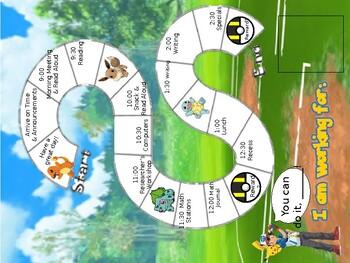 Individual Behavior Chart-Pokemon