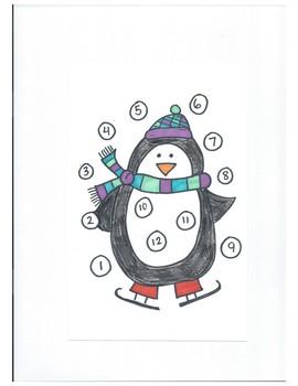 Individual Behavior Charts - Winter Collection