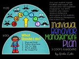 Individual Behavior Management Plan: Behavior Dial for Sel