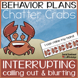 Impulse Control Individual Behavior Plan for Calling Out & Blurting