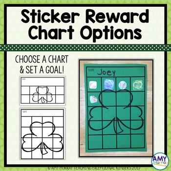 Individual Behavior and Reward Charts March/St. Patrick's Day Themed editable