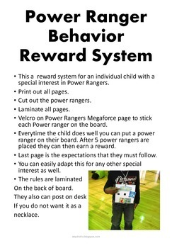 Individual Behavior Reward System