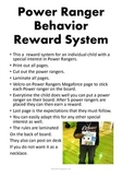 Individual Behavior Reward System