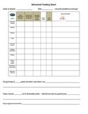 Individual Behavior Tracking Sheet
