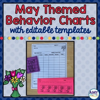 Individual Behavior and Reward Charts May Themed and editable