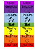 Individual Behaviour Chart