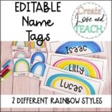 Individual Bin Book Labels Name Tags