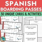 Individual Boarding Passes - Spanish Airport Unit