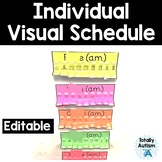 Individual Class Schedule for Students with Autism