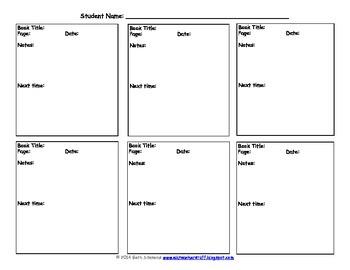 Individual Conference Sheet