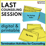 Counseling Termination Printable and Digital Activities fo