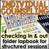 Individual Counseling Tool: Check In Lapbook Includes Distance Learning Version