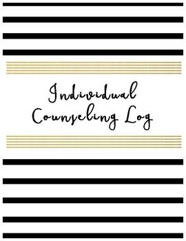Individual Counseling Log
